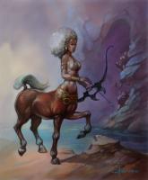 Centaure avec arc