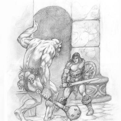 Conan  Orc